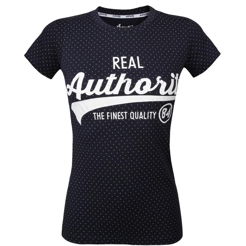 55b2e82c04b4 Dámske tričko s krátkym rukávom AUTHORITY-ARMEA dk blue - Dámske tričko  značky Authority v
