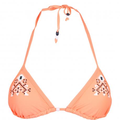 Dámske plavky vrchný diel AUTHORITY-PLAMERY TOP orange