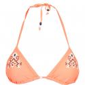 Dámske plavky vrchný diel AUTHORITY-PLAMERY TOP orange - Vrchný diel plaviek značky Authority v neonovej farbe.