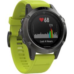 Športové hodinky GARMIN FÉNIX 5 Grey, Yellow band
