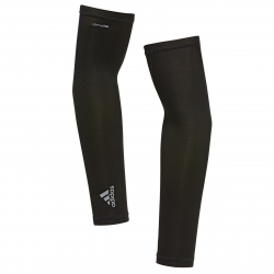 Bežecké rukavice ADIDAS-RUNNING SLEEVES BLACK
