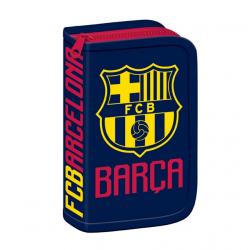Peračník FC BARCELONA FCB COL Peračník 1-zips prázdny MIR BLK A