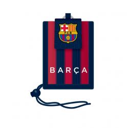 FC BARCELONA FCB COL Puzdro na krk MIR BLK