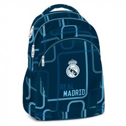 Školský ruksak REAL MADRID REAL-modrý Plecniak 298 modrý MIR