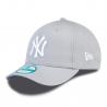NEW ERA-940 MBL BASIC NY Yankees Grey/White NOS