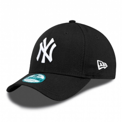 Šiltovka NEW ERA-940 MBL BASIC NY Yankees Black/White NOS