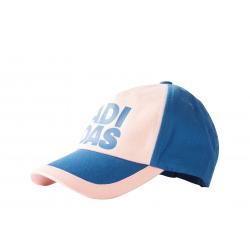 Detská šiltovka ADIDAS-LITTLE KIDS CAP BLUE/CORAL