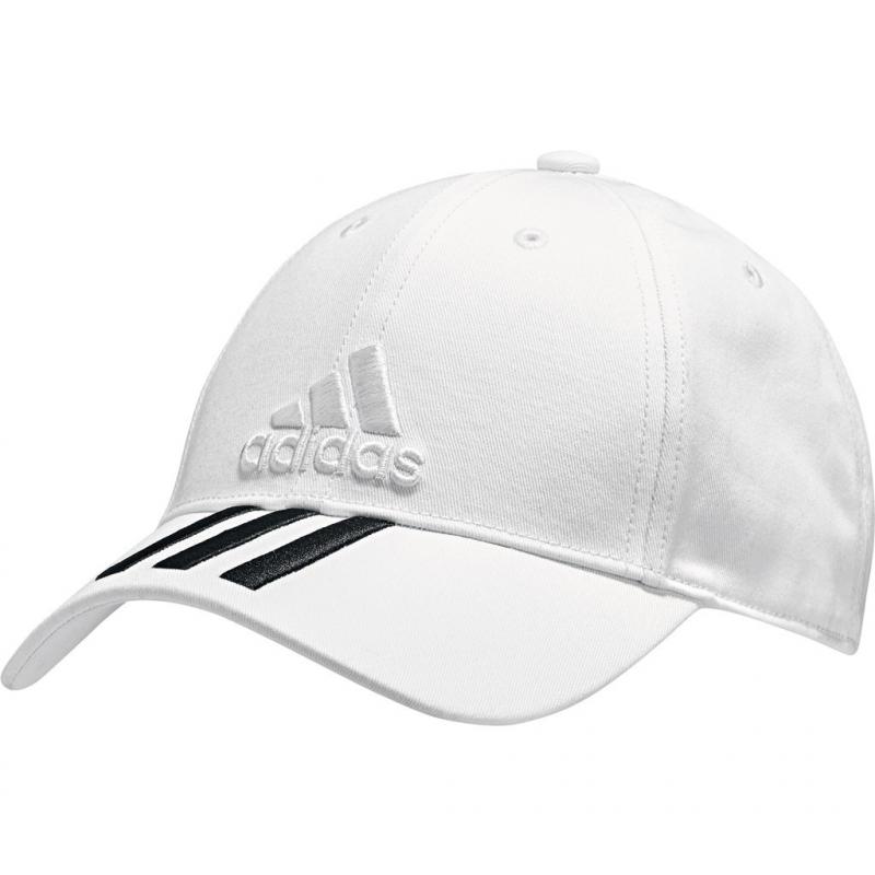 edd9f68950d Šiltovka ADIDAS-6P 3S COTTON CAP WHITE