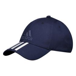 Šiltovka ADIDAS-6P 3S COTTON CAP NAVY