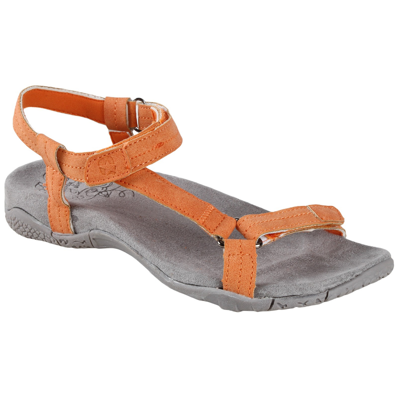 Dámska módna obuv AUTHORITY-Sirana Orange - Dámska letná obuv značky Authority.