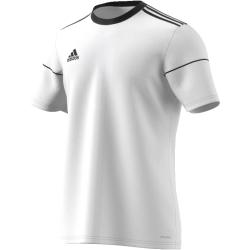 Pánsky futbalový dres s krátkym rukávom ADIDAS-SQUAD 17 JSY SS WHITE