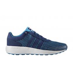 Pánska tréningová obuv ADIDAS NEO-CLOUDFOAM RACE SOLBLU/MYSBLU/FTWWHT