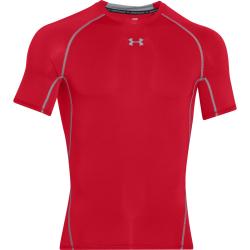 Pánske tréningové tričko s krátkym rukávom UNDER ARMOUR-HG Armour SS-Red