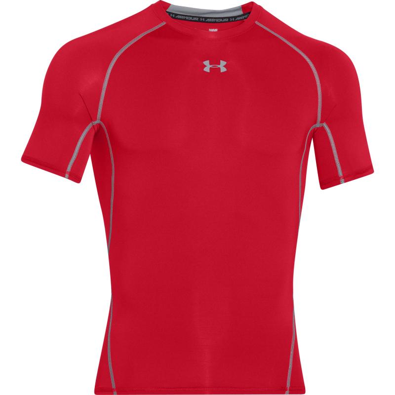 Pánske tréningové tričko s krátkym rukáv UNDER ARMOUR-HG Armour SS-Red 5c02a9ed9fc