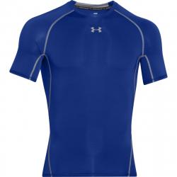 Pánske tréningové tričko s krátkym rukávom UNDER ARMOUR-HG Armour SS-Blue