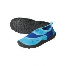 Detská obuv do vody AQUALUNG BEACHWALKER KID blue