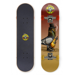 """Skateboard STREET SURFING 31"""" Street N Roses, 100 kg, 8+, 78cm ABEC"""