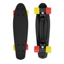 Pennyboard FIZZ FIZZ BOARD Black Red-Yellow, 100kg, 5+