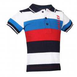 Chlapčenské polo tričko s krátkym rukávo AUTHORITY-ELEK B red