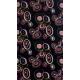 TEIDE MF Šatka  black/ rosewood - Praktická multifunkčná šatka značky Teide vtvare tubusu je vyrobená zpolyesterového vlákna.
