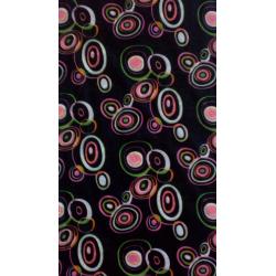 Dámska multifunkčná šatka TEIDE black/ rosewood