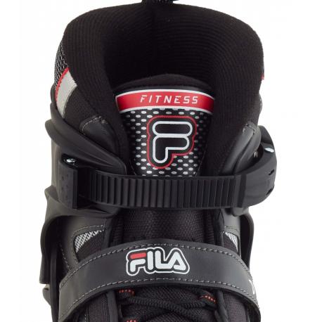 Pánske ľadové korčule FILA SKATES-PRIMO ICE BLACK/RED - Pánske ľadové korčule značky Fila.