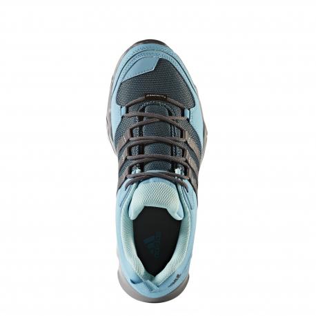 Turistická obuv nízka ADIDAS-AX2 CP W CHSOGR/VAPBLU/GREFIV - Dámska turistická obuv značky adidas určené na jednoduché túry i všestranné využitie.
