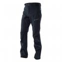 Pánske turistické nohavice NORTHFINDER-HOLMFRID-Black - Pánske 3-vrstvové softshellové nohavice disponujú skvelými funkčnými vlastnosťami.