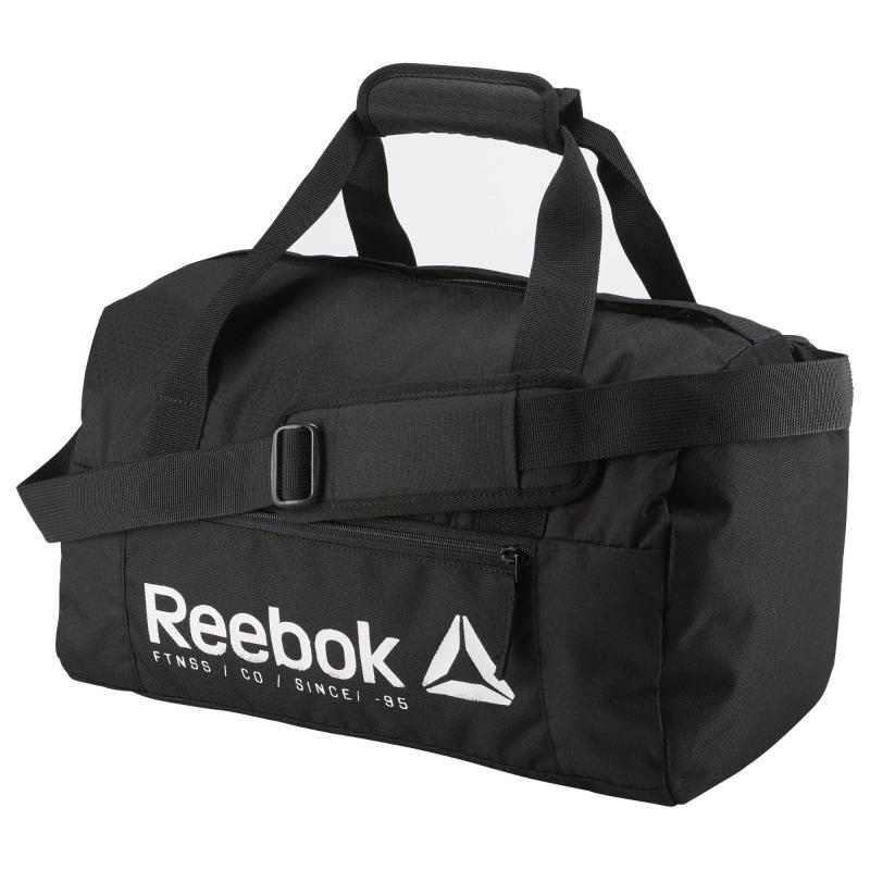 381a8954c2 Cestovná taška REEBOK-FOUND S GRIP BLACK - Športová taška značky Reebok v  nadčasovom dizajne
