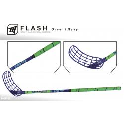Juniorská florbalová hokejka MPS FLASH green/navy JR L