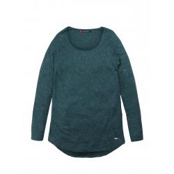 Dámske tričko s dlhým rukávom VOLCANO-L-CLOVER-Green