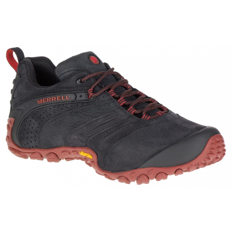 0757e7c19a Pánska turistická obuv nízka MERRELL-CHAMELEON II LTR Black