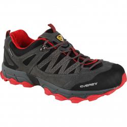 Pánska turistická obuv nízka EVERETT-Sivalo