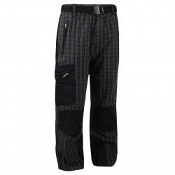 Detské turistické nohavice AUTHORITY-TREKONY B black
