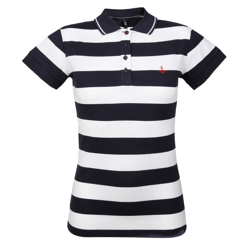 9be8e62dd72a Dámske polo tričko s krátkym rukávom AUTHORITY-EMMILY dk blue - Dámske  tričko značky Authority