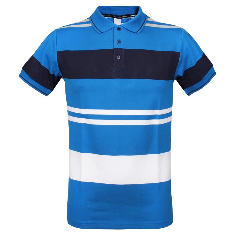 4eb50fdfa2e2 Pánske polo tričko s krátkym rukávom AUTHORITY-ELDERNO blue - Pánske tričko  značky Authority v