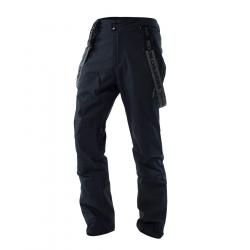 Pánske lyžiarske nohavice NORTHFINDER-JACEK-Black