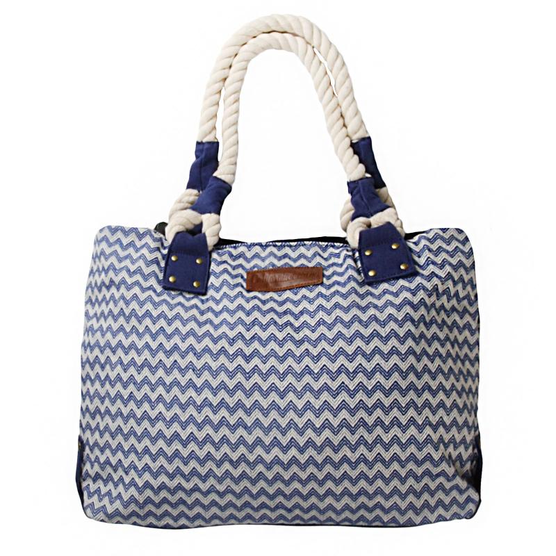 ad61d30869 Plážová taška AUTHORITY-California Beach blue - Veľká plážová taška značky  Authority.