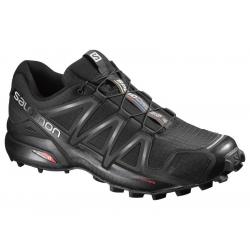 Pánska trailová obuv SALOMON-SPEEDCROSS 4 BK/BK/BLACK