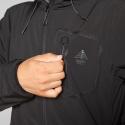Pánska turistická softshellová bunda BERG OUTDOOR-YUKON-MEN-Black - Pánska turistická softshellová bunda značky Berg Outdoor.