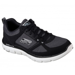 Pánska tréningová obuv SKECHERS-FLEX ADVANTAGE 2.0 BKW