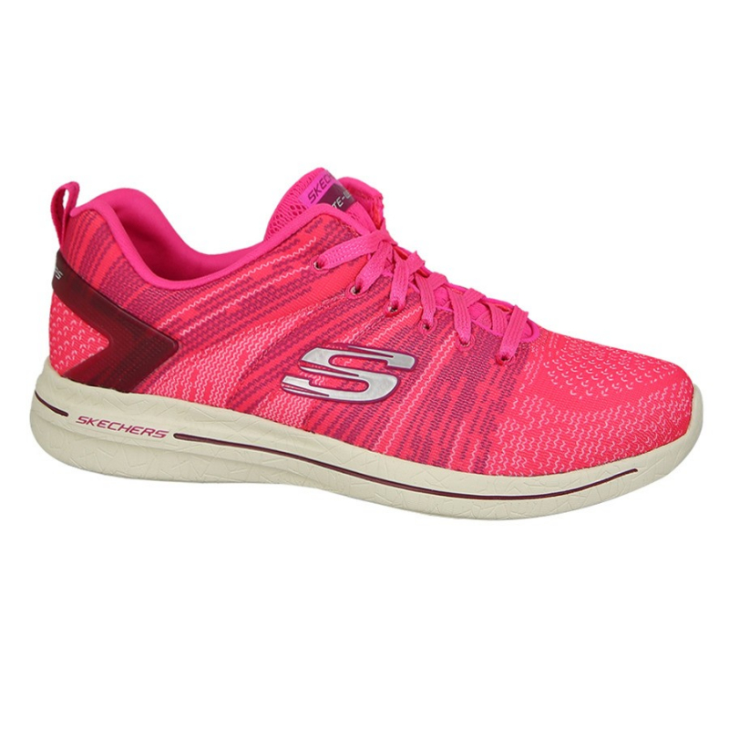 Dámska tréningová obuv SKECHERS-BURST WALK 2.0 HPK - Dámska tréningová obuv značky Skechers v modernom športovom dizajne.