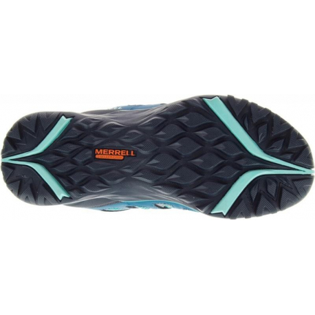 MERRELL-SIREN HEX Q2 WTPF baltic - Dámska turistická obuv značky Merrell v atletickom dizajne.