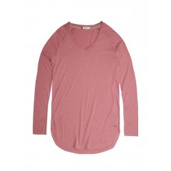 Dámske tričko s dlhým rukávom VOLCANO-L-CHERRY-Pink
