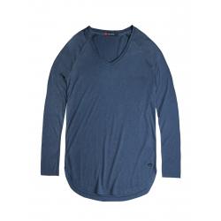 Dámske tričko s dlhým rukávom VOLCANO-L-CHERRY-Blue