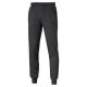 Tréningové nohavice PUMA-ESS Sweat Pants SLIM, FL, cl. Dark Gray - Pánske športové nohavice značky Puma v nadčasovom dizajne.