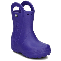 Detské gumáky CROCS-Handle It Rain Boot Kids - Cerulean Blue