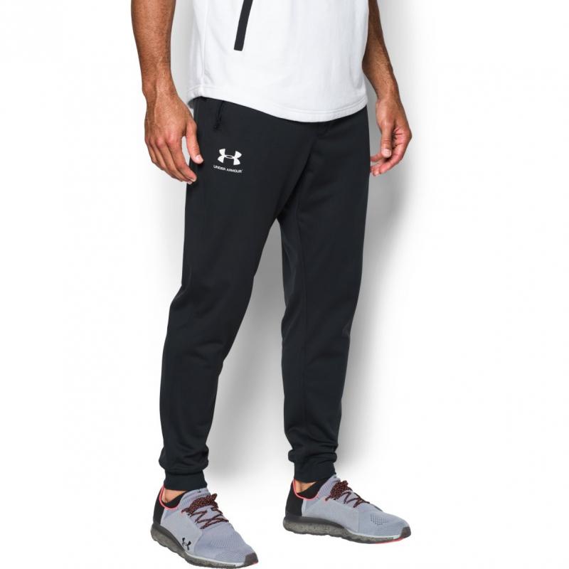 0c55dbe034acb Pánske tréningové nohavice UNDER ARMOUR-SPORTSTYLE JOGGER-MEN-Black - Pánske  športové nohavice