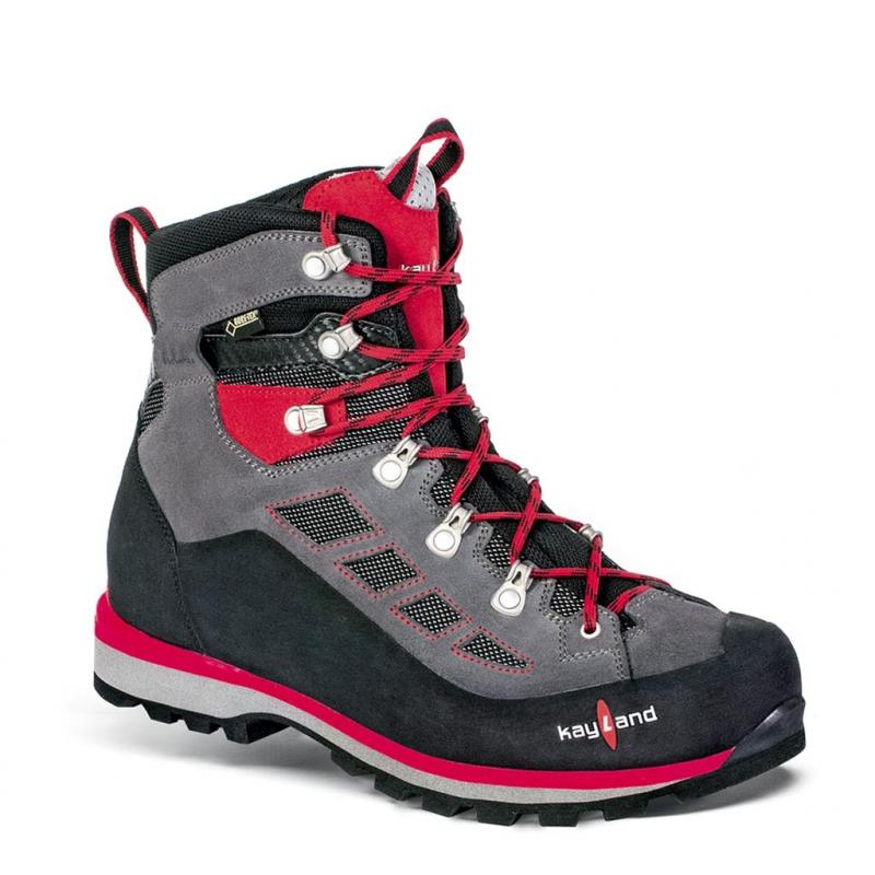 Pánska turistická obuv vysoká KAYLAND TITAN FERRATA GTX PIOMBO RED (E) -  Pánske turistické cf3b94dd9a8