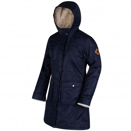 Dámska bunda REGATTA Roanstar II Navy - Dámska bunda značky Regatta, ktorá je vyrobená z vode odolného a priedušného materiálu.